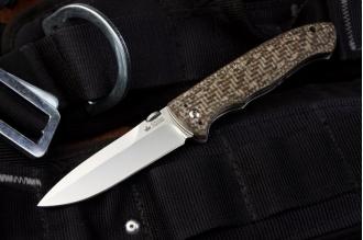 Нож складной Vega (440C, Polished) Kizlyar Supreme