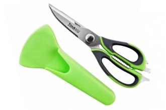 Многофункциональные кухонные ножницы с чехлом-магнитом, TimA