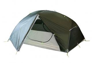 Палатка Cloud 2 Si (тёмно-зелёная) Tramp