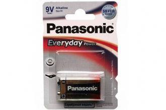 Элемент питания щелочной Everyday Power 9V (6LR61) Panasonic, Япония