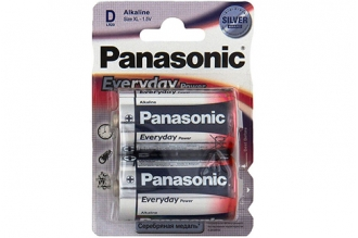 Батарейка тип D Everyday Power LR20 Panasonic