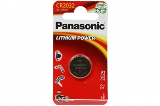 Батарейка Lithium Power CR2032 Panasonic