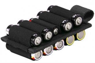 Панель-органайзер Kiwidition Battery Holder 10 Black