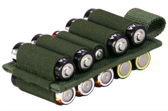 Панель-органайзер Kiwidition Battery Holder 10 OD Green
