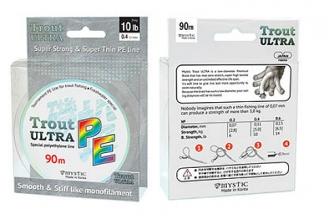 Шнур плетеный PE Trout ULTRA (0,11 мм; 10 lb / 5 кг) Mystic – шнур для спиннинга