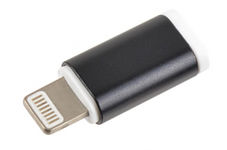 Переходник с Micro-USB на Apple 8pin (Lightning) P13 Robiton
