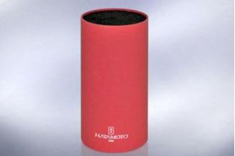 Подставка для ножей Hatamoto Color PWBS-15-D-RED