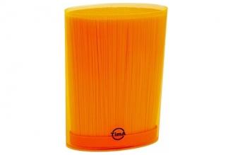 Подставка для ножей овальная оранжевая, TimA