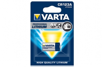 Батарейка фотолитиевая Professional Lithium 6205 CR123A, Varta, Германия
