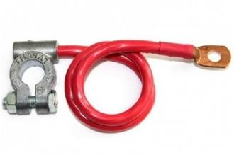 Плюсовой провод (клемма - медный наконечник) 16/600 мм Гарант-Сиб