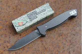 Нож «НР» (carbon fiber) Reptilian
