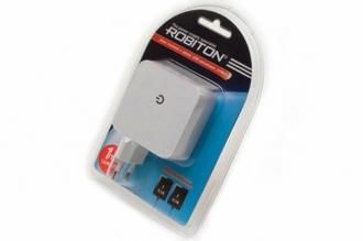 Блок питания ROBITON USB2100/TWIN 2100мА с 2 USB выходами