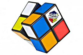 Rubik's кубик Рубика 2x2 без наклеек