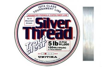 Леска Silver Thread Trout Clear 0.125