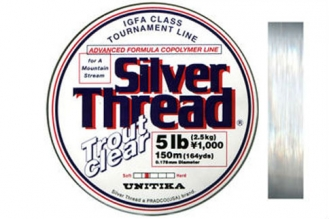 Леска Silver Thread Trout Clear 0.138