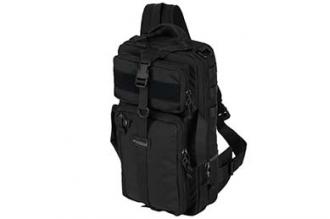 Рюкзак однолямочный Tawaho City 15 (Black) Kiwidition