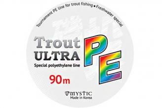 Плетеный шнур PE Trout ULTRA (0,13 мм; 6,5 кг) Mystic