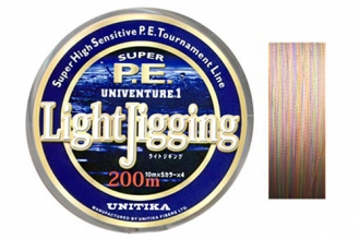 Шнур для спиннинга Univenture Light Jigging LJ-08 Unitika, Япония