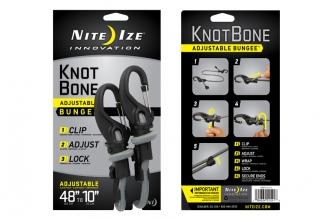 Шнур крепежный Knot Bone Bungee 9 Nite Ize, США