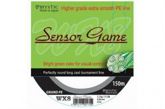Шнур рыболовный PE Sensor Game 0,19 мм, Япония