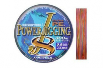 Шнур Power Jigging J8 0.285, Unitika
