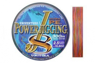 Шнур Power Jigging J8 0,410, Unitika