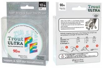Плетеный шнур для спиннинга PE Trout ULTRA (0,09 мм)