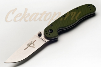 Нож складной RAT II 8881GR Ontario, США, зеленый