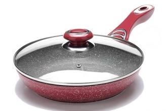 Сковорода литая 240 мм (розовая) 26899 Mayer & Boch