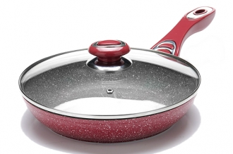 Сковорода литая 260 мм (розовая) 26902 Mayer & Boch