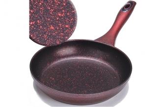 Сковорода литая 280 мм (красная) Mayer & Boch