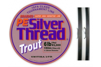 Полиэтиленовый шнур PE Silver Thread Trout 0,1