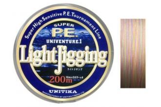 Универсальный спиннинговый шнур Univenture Light Jigging 0,128