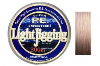 Цветной спиннинговый шнур Univenture Light Jigging 0,15