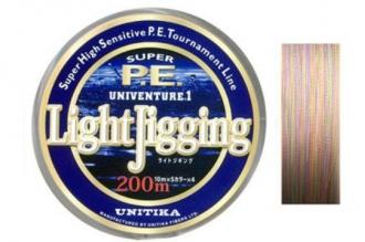 Превосходный спиннинговый шнур Univenture Light Jigging 0,205