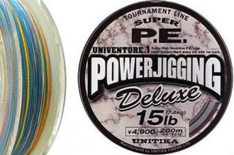 Рыболовный цветной шнур Univenture PE Power Jigging Deluxe 0.235