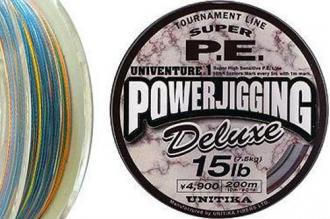 Рыболовный цветной шнур Univenture PE Power Jigging Deluxe 0.285
