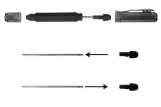Стержень с синими чернилами для Inka Mobile Pen + Stylus Nite Ize, США