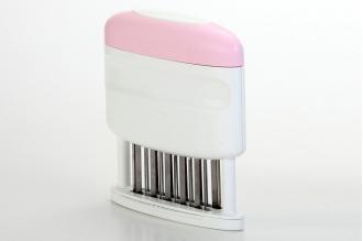 Тендерайзер для мяса niXaX (розовый) Yoshiharu, Япония