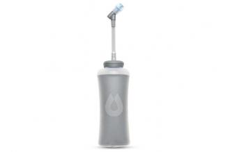 Термобутылка мягкая для воды с трубкой Ultraflask IT 0.5 л (серая) HydraPak