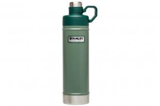 Термобутылка Classic Vacuum 0,75 л (зеленая) Stanley, США