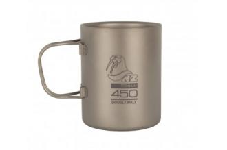 Термокружка титановая Titanum Double Wall Mug 450 ml TMDW-450FH NZ, Россия