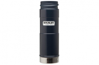 Термостакан Classic One Hand 0,47 л (синий) Stanley, США