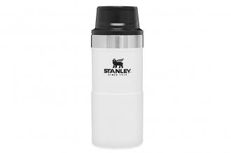 Термостакан Classic Trigger-Action 0.25 л (белый) Stanley