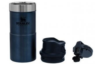 Термостакан Classic Trigger-Action 0.35 л (синий) Stanley