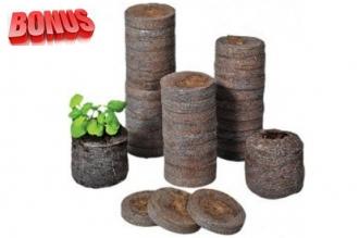 Торфяные таблетки Jiffy-7 диаметр 24 мм в количестве 100 штук