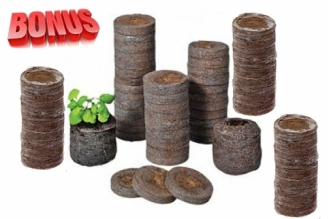 Торфяные таблетки Jiffy-7 диаметр 24 мм в количестве 300 штук