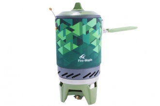 Великолепная газовая горелка Star X2 FMS-X2 (зеленая) Fire-Maple