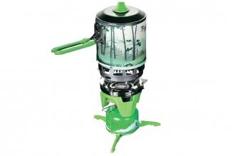 Туристическая газовая горелка Fire-Maple TRG-049 (зеленая)