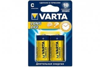 Батарейки тип С Longlife 4114 LR14 Varta